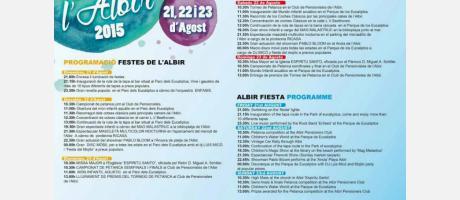 Fiestas del Albir, agosto 2015