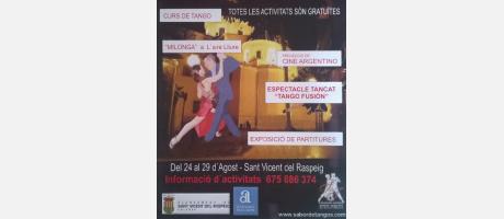 7º Jornadas de Tango San Vicente del Raspeig 2015