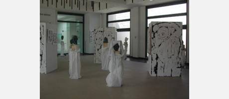 WHITE PAINTING. Retratos de El Fayum y Escultura Expresiva