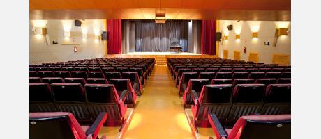 Vista del Auditorio de la Casa de la Cultura