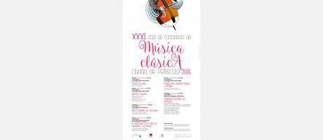 XXXI Ciclo de Conciertos de Música Clásica Ciudad de Peñiscola 2015