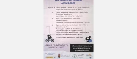 Semana Europea de la Movilidad del 15 al 22/09/2015