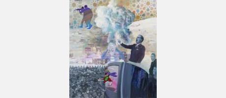 """exposición """"El paradigma islamofóbico"""" de José Antonio Hinojos en la Fundación F"""