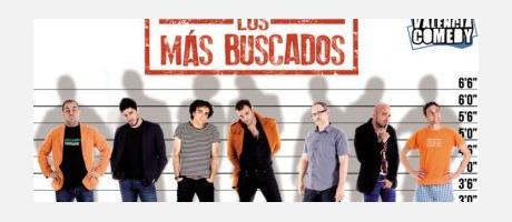 Cartel promocional Valencia Comedy con los monologuistas que participan