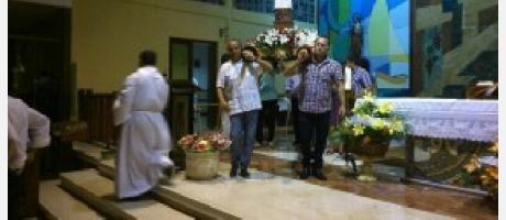 Fiestas en honor de San Bartolomé en el Pati Fosc de La Vila Joiosa
