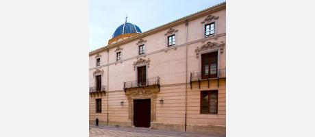 Museo diocesano de arte sacro de orihuela, palacio episcopal