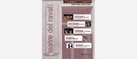 Programa teatro Nadal al Raval
