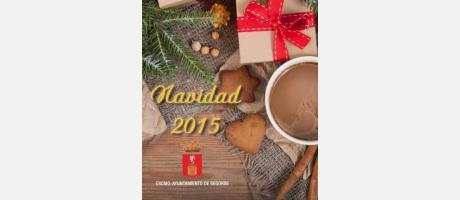 Portada programación Navidades en Segorbe 2015