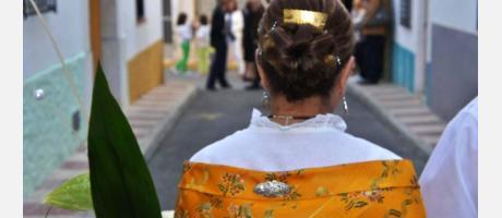fiesta en honor a la virgen en senija