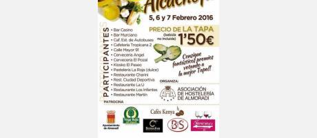 Tapea con Alcachofa en Almoradí 2016