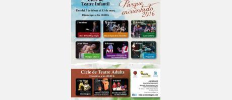 Cartel Ciclo de Teatro Infantil