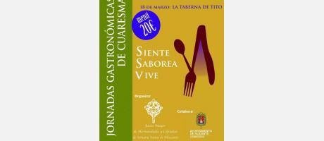 II Jornadas gastronómicas de Cuaresma 2016