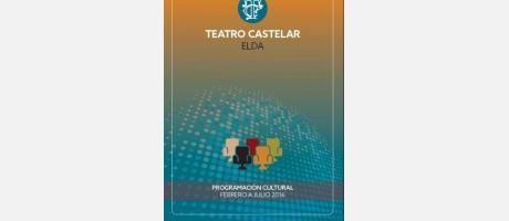 Portada Programa Teatro Castelar febrero - julio 2016