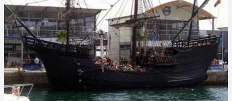 Cartel Nao Victoria vuelve a Alicante