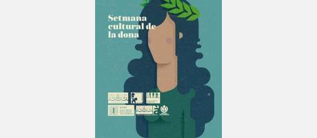 Cartel Setmana Cultural de la Dona