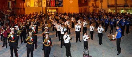 """I Certamen de Bandas de Cornetas y tambores """"Pueblo del Pilar"""" en Pilar de la Ho"""