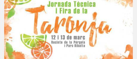 Cartel Jornadas y Feria de la Naranja