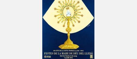 Cartel Fiestas de la Mare de Déu del Lledó