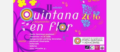 II Edición Quintana y adyacentes en flor 2016