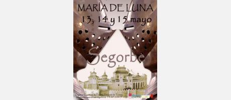 Cartel Mercado Medieval María de Luna