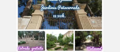 Visita Guiada Jardines de Peñacerrada