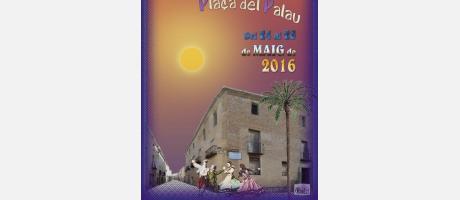 cartell anuncidaro de la Danzas de Palacio