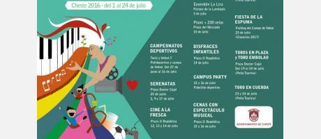 Fiestas de julio Cheste