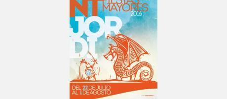 Cartel Fiestas Sant Jordi