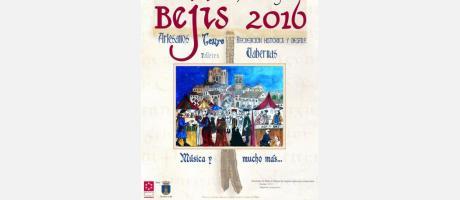 Cartel Feria Medieval Bejís