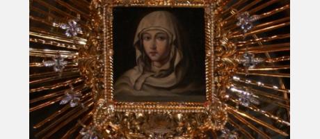 Imagen de la Virgen de la luz