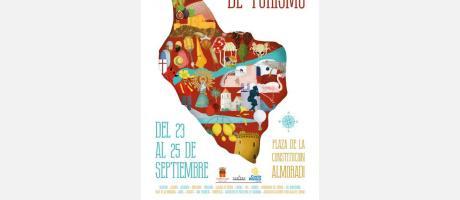 Cartel Feria Comarcal de Turismo Almoradí
