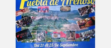 Cartel Fiestas Puebla de Arenoso