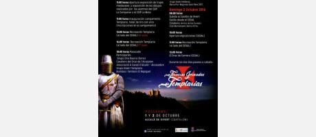 programa jornadas templarias