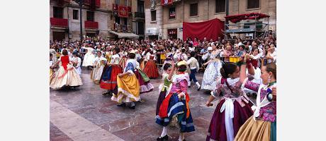 Bailes regionales en Valencia