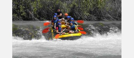 Cofrentes raftting