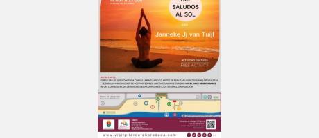 Día Internacional del Yoga: 108 saludos al sol