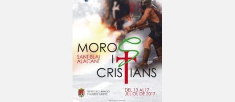Cartel de Moros y Cristianos