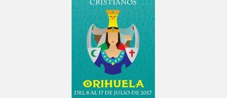 cartel Fiesta de la Reconquista y de Moros y Cristianos 2017