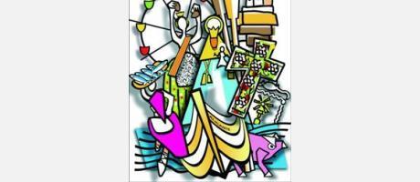 Programa de fiestas del barrio de San Gabriel 2017