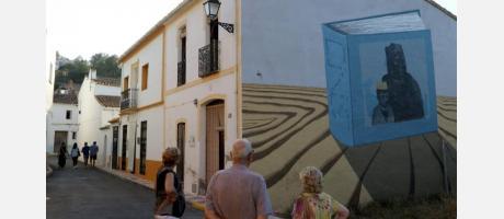 Arte en la calle en Senija, MOS