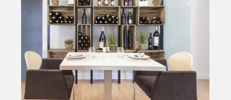 Vinos en Restaurante Al Grano
