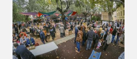 Fira de Tot Sants Cocentaina Público
