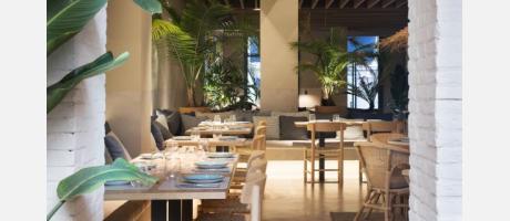 Restaurante Turqueta Decoración
