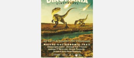 Cartel Semana Dinomania en Cinctorres
