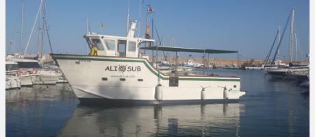 Barco fibra Alisub