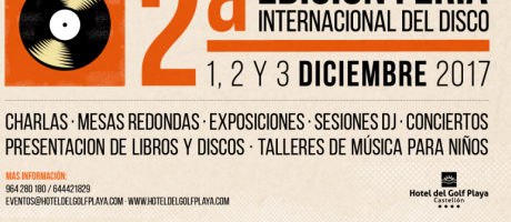 Cartel Feria del Disco Castellón