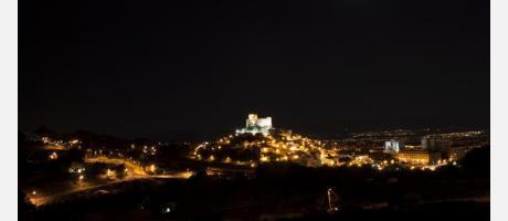 Luna llena en Petrer se viste de luna