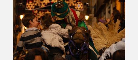 Cabalgata Reyes Magos de Alcoy