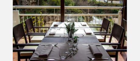 Vistas Restaurante Font de Sant Pere