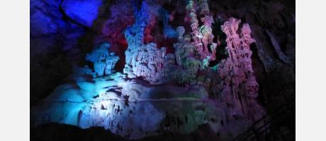 Cuevas del Canelobre en Bussot